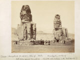 The Colossi of Memnon  Statues of Amenhotep III  XVIII Dynasty  c1375-1358 BC