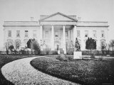 The White House at the Time of the Inauguration of Abraham Lincoln