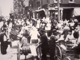 Immigrants on Mulberry Street  Lower East Side  New York City  c1900