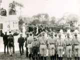 Unveiling of War Memorial  Port of Spain  Trinidad  c1920