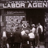 Immigrants Looking For Work in New York City  c1910