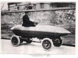 Electrical Racing Car Jenatzy La Jamais Contente  c1900