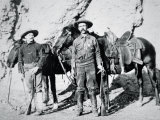 Deputy Sheriff CH Farnsworth and Ranger WK Foster on Patrol in Arizona  c1903