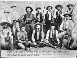Company D Texas Rangers at Ysleta  Texas  1894