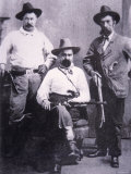 William A Pinkerton with Special Agents Used For Western Trailing  c1875