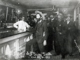 Soapy Smith&#39;s Saloon Bar at Skagway  Alaska  1898