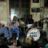 Jazz Band at Preservation Hall  New Orleans