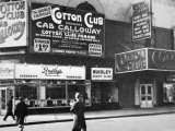 The Cotton Club in Harlem  New York City  c1930