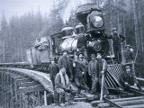 Railroad Construction Crew  1886