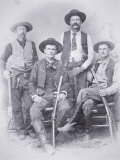 Texas Rangers at Shafter Mines  Big Bend District of Texas  1890