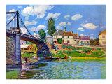 Brucke von Villeneuve La Garenne Bridge
