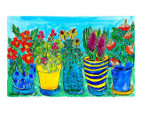 Potted Flower Garden
