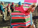 Aymara Indian Farmers Celebrate the Feast of the Cross