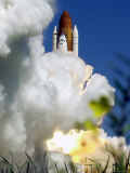 The Space Shuttle Atlantis Lifts off