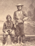 Portrait of Two Peruvian Native Americans