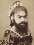 Portrait of a Bearded Woman
