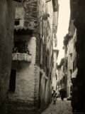 An Alleyway of the City of Grado During World War I