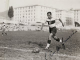 Portrait of a Player on the Genova Soccer Team During a Play