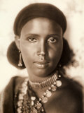 Portrait of a Somali Woman Photograph Commissioned by the Societa Agricola Italo Somala