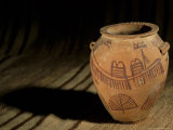 Predynastic Pot from Naqada I  Cairo Museum  Egypt