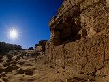 Temple of Alexander the Great  near El Bawati  Bahariya Museum  Valley of the Golden Mummies  Egypt