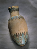 Vessel with Lotus  Valley of the Mummies  Bahariya Oasis  Egypt