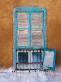 Nubian Window in a Village Across the Nile from Luxor  Egypt