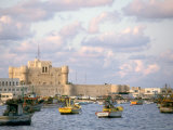 15th Century Castle  Fort Qait Bay  Alexandria  Egypt
