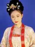 Chinese Woman in Tang Dynasty Dress  China