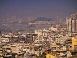 City View from Penha Hill  Macau  China