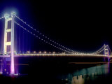 Tsing Ma Bridge  Hong Kong  China