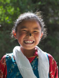 Young Tibetan Girl  Tibet  China