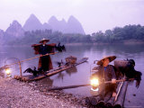 Fishermen  Li River  Yangshou  China