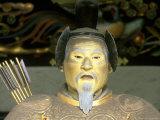 Statue of Tokugawa Shogun  Toshogu Shrine  Tochigi  Nikko  Japan