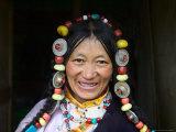 Tibetan Woman  Tibet  China