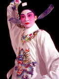 Actor from Yiu Ming  Cantonese Opera Group  Hong Kong  China