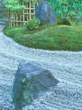 Daitokuji Temple  Zuiho-in Rock Garden  Kyoto  Japan