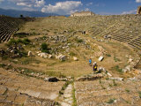 Overview of Stadium  Aphrodisius  Turkey