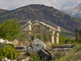 View of Ruins  Aphrodisius  Turkey