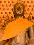 Buddha Images at Wat Si Saket  Vientiane  Laos