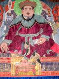 Genghis Khaan Tapestry  Ulan Batar  Mongolia