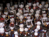 Puppets with Painted Faces  Hanoi  Vietnam