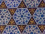 Tile Inside Topkapi Palace  Istanbul  Turkey