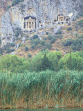 Rock Tombs of Caunos  Dalyan  Turkey