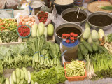 Vegetable and Food  Khon Kaen  Thailand
