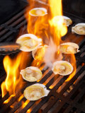 Scallops on Barbeque