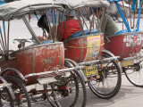 Bicycle Taxi  Khon Kaen  Thailand