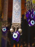Evil Eye Souvenirs Outside Virgin Mary House  Turkey