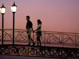 Couple on Bridge  Oranjestad  Aruba