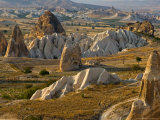 Landscape of Fairy Chimneys  Cappadocia  Turkey
